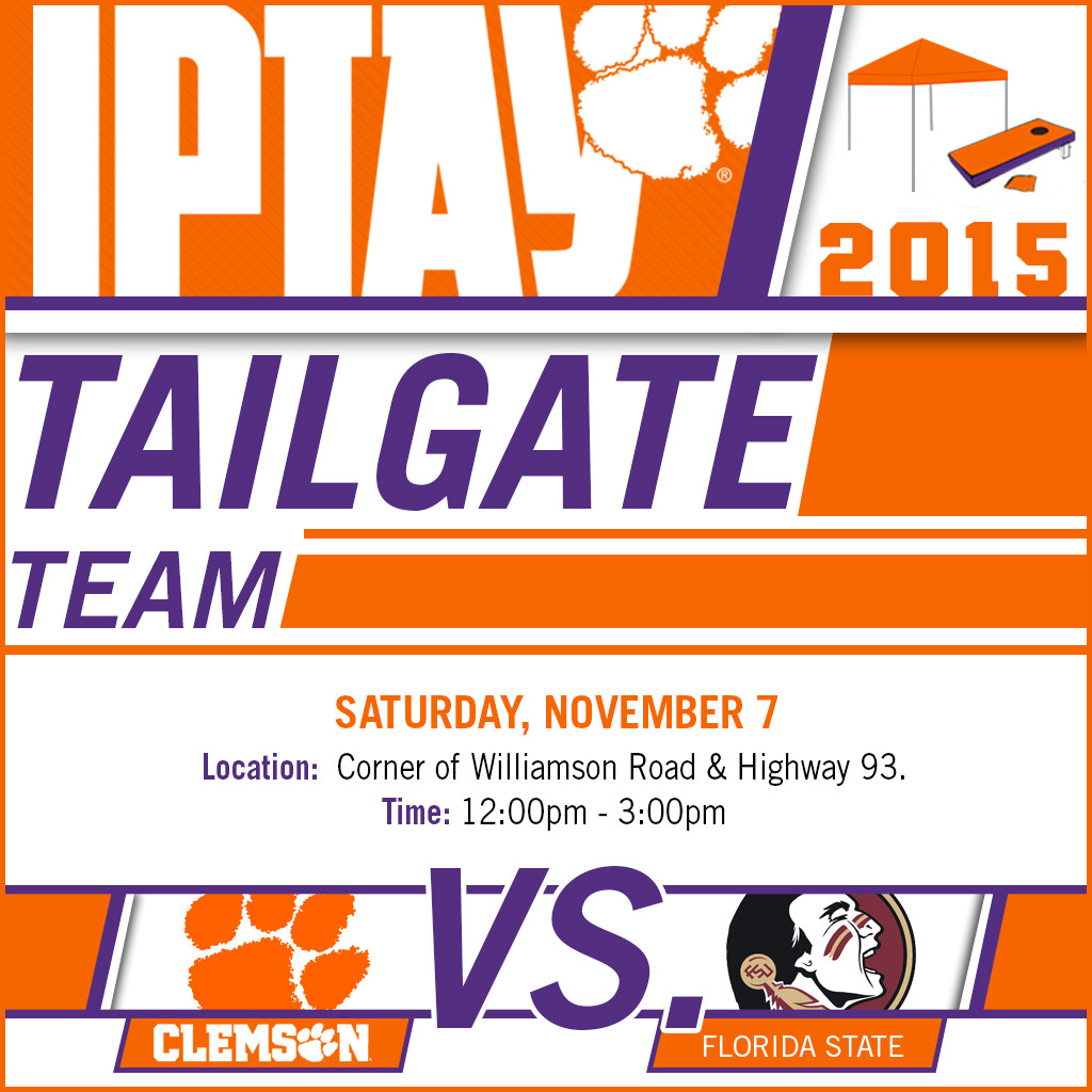 IPTAY Tailgate Team Rolls North For Home Contest With Florida State