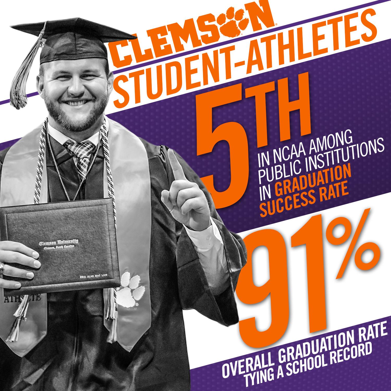 Clemson Continues Academic Successes in 2015 GSR Report