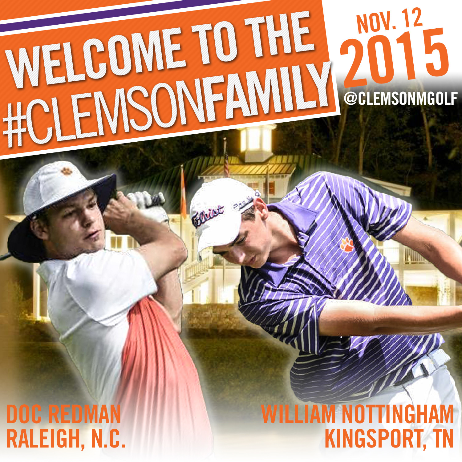Clemson Signs Two top 30 Players