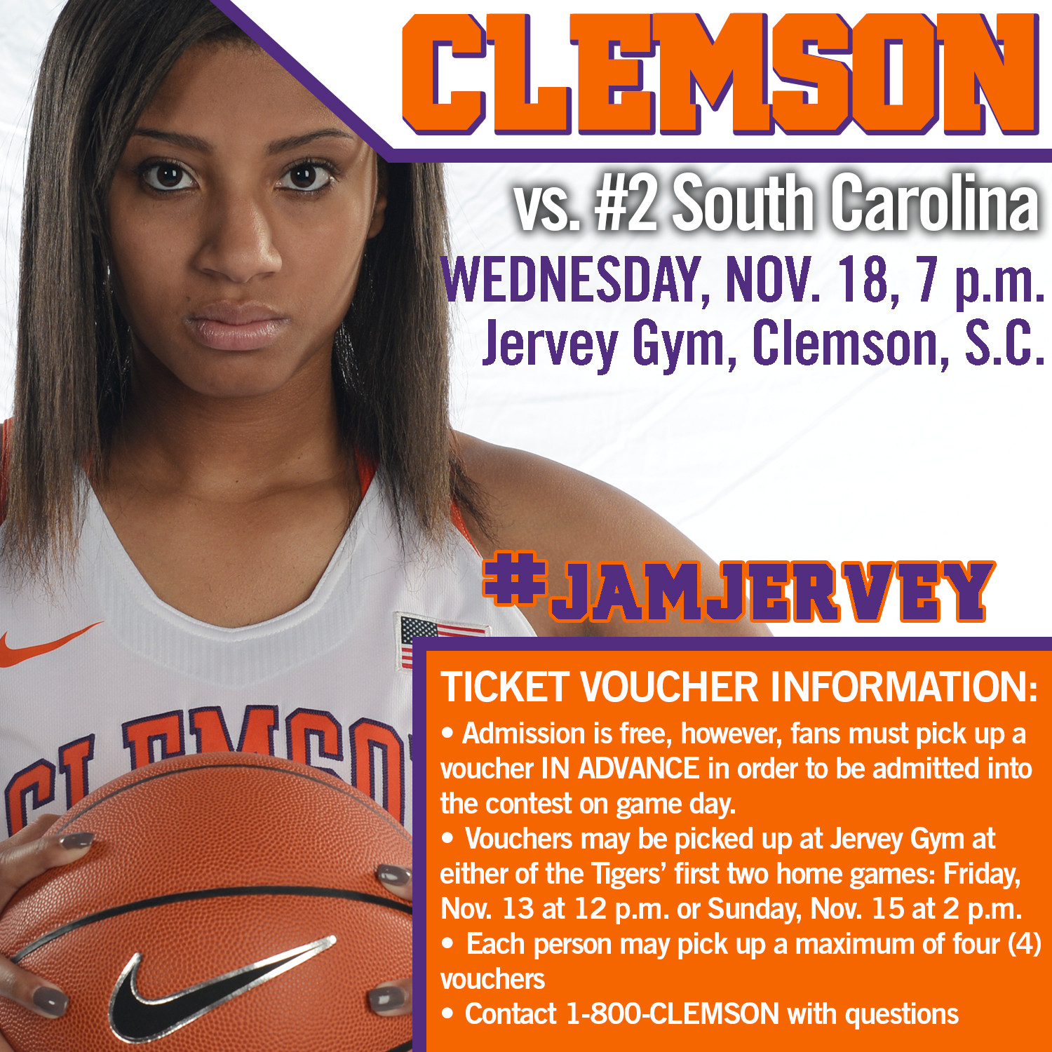 Details Announced for Clemson vs. South Carolina Ticket Voucher Plan