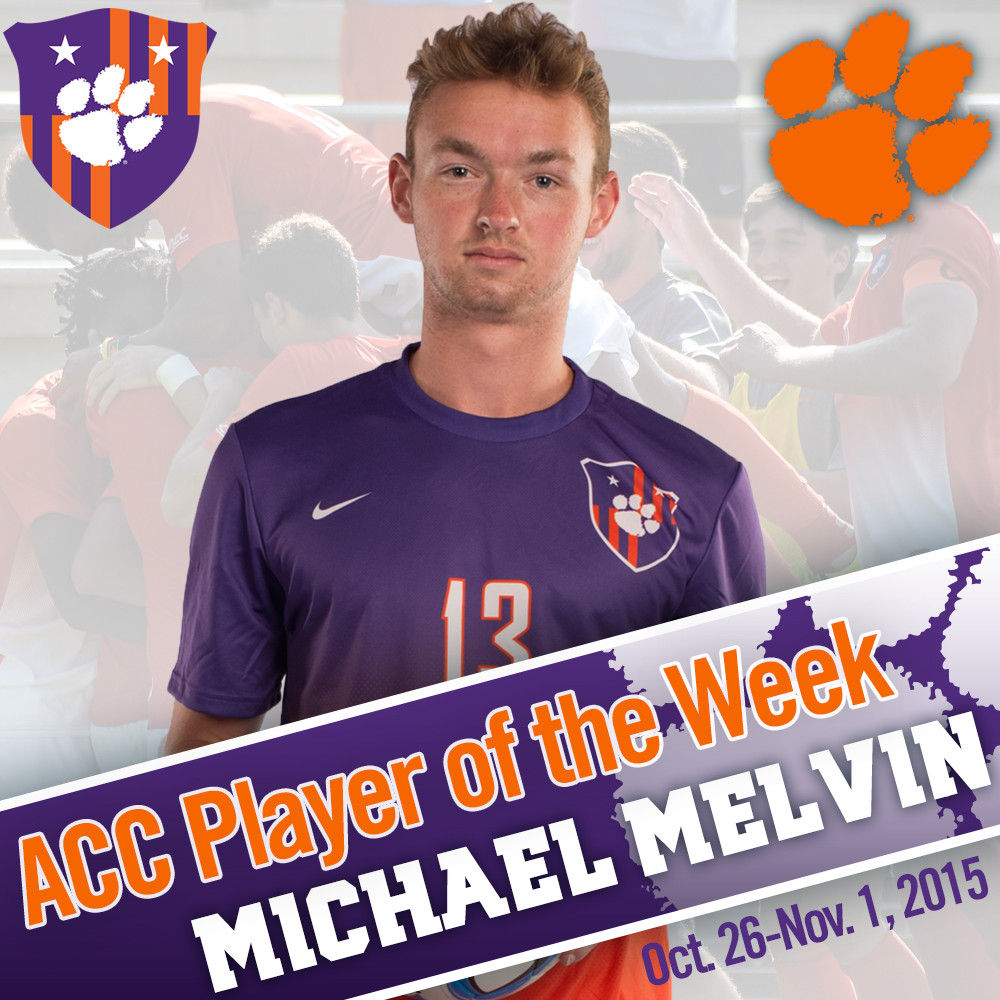 Melvin Named ACC Offensive Player of the Week