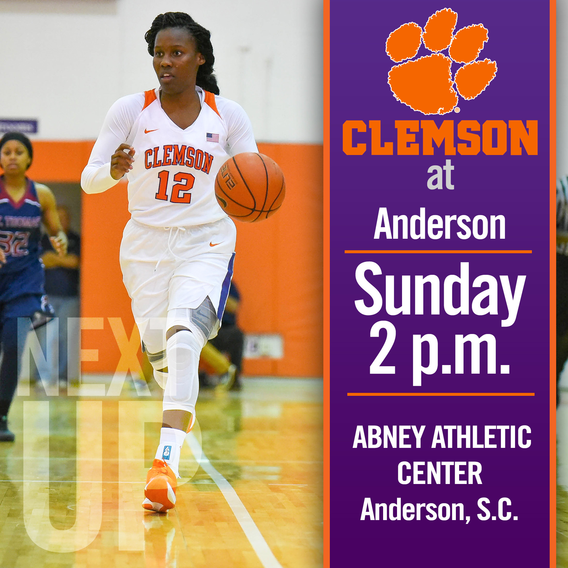 Clemson Travels to Anderson for Final Exhibition Sunday