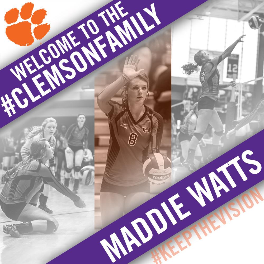Volleyball Lands Local Talent, Maddie Watts