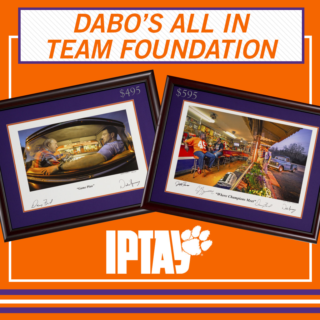 Dabo's All In Team Foundation Prints