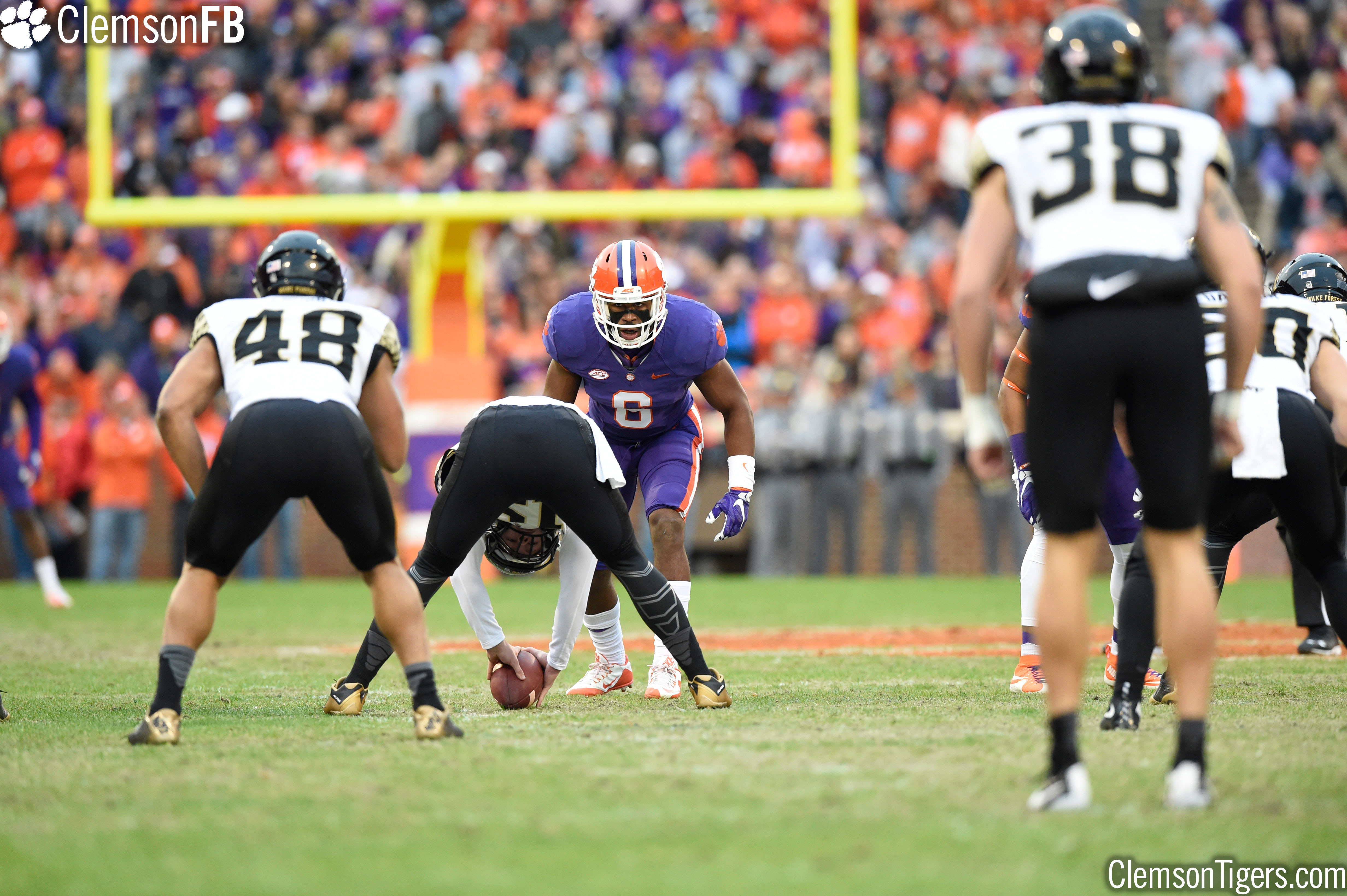 O'Daniel Named ACC Linebacker of the Week