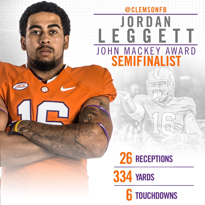 Leggett Semifinalist for Mackey Award
