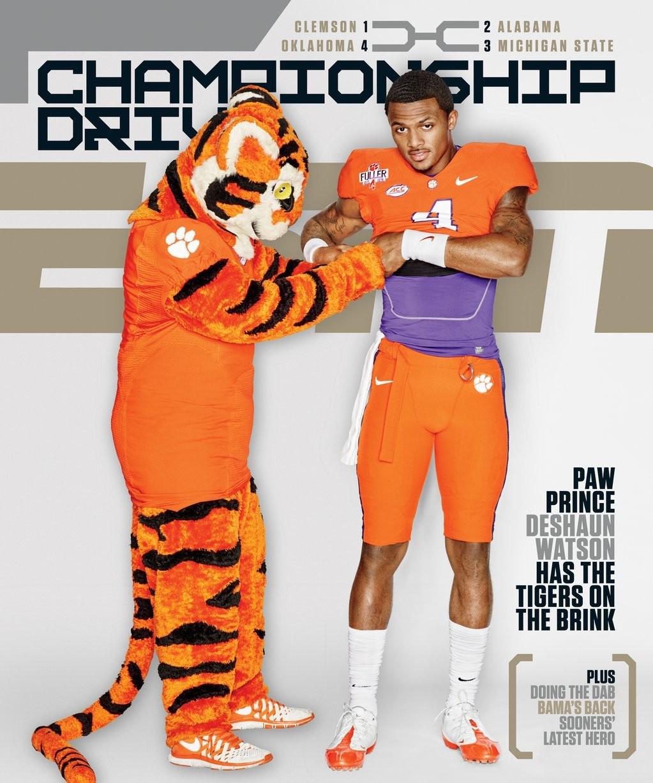 Clemson on the Cover: ESPN the Magazine