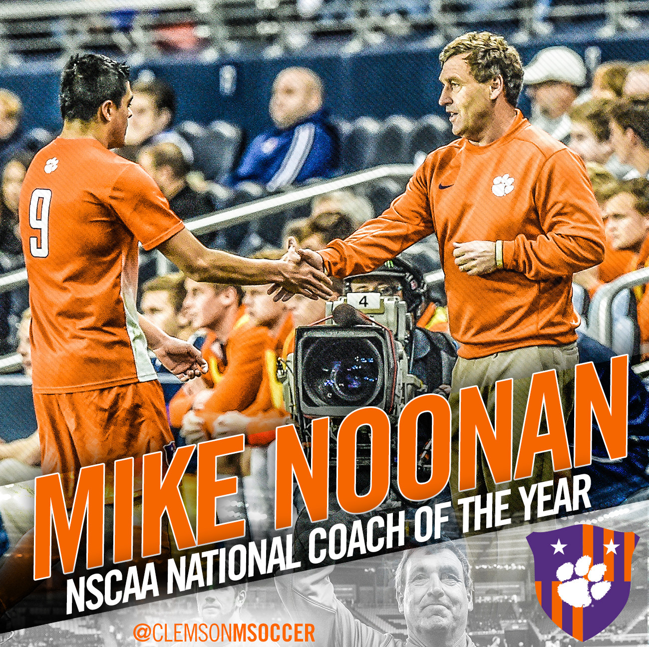 Noonan Named National Coach of the Year by NSCAA