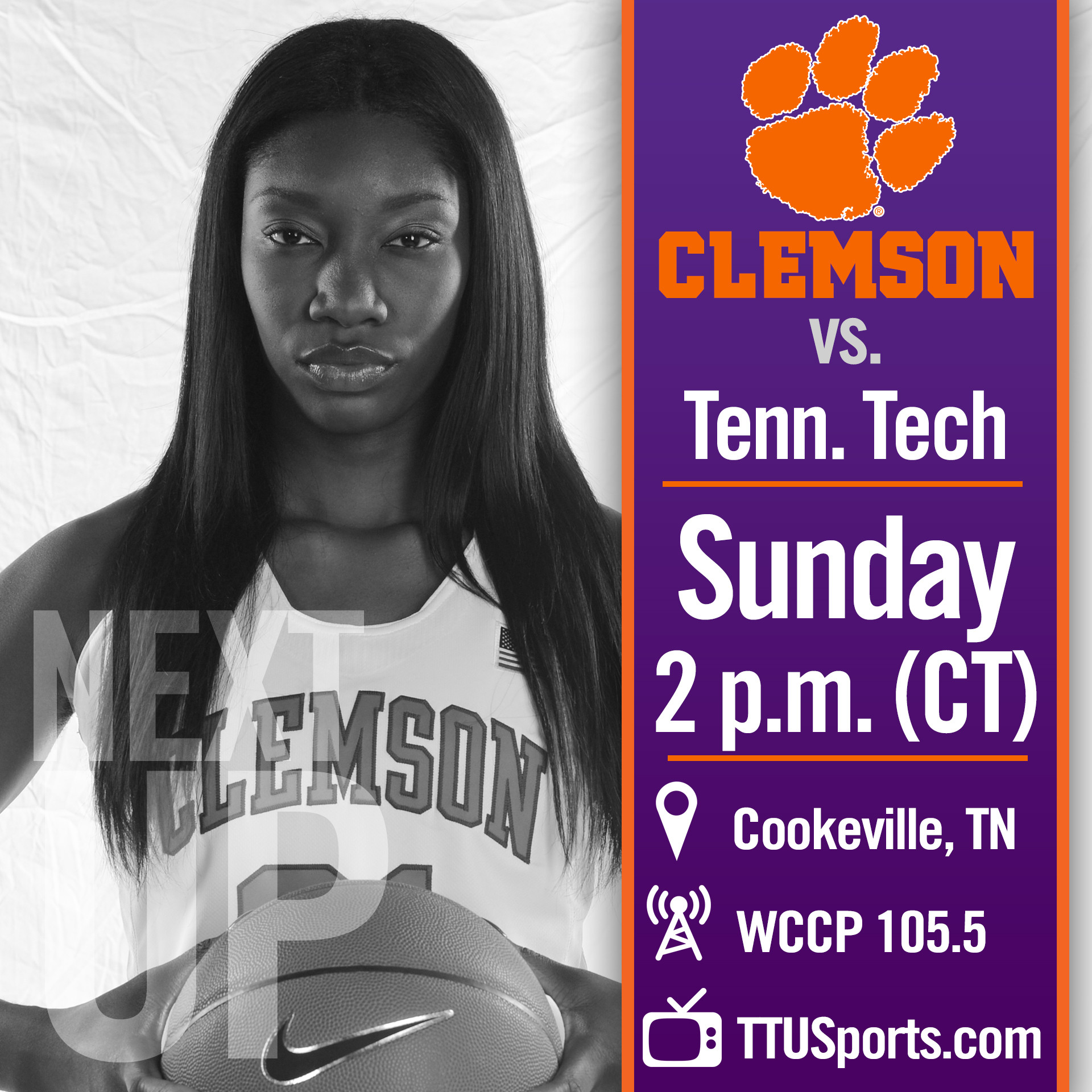 Lady Tigers Travel to Tennessee Tech for Sunday Matchup