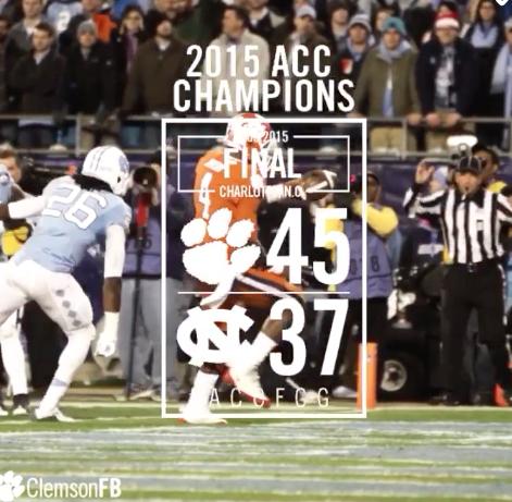 The Dream – 2015 ACC Championship