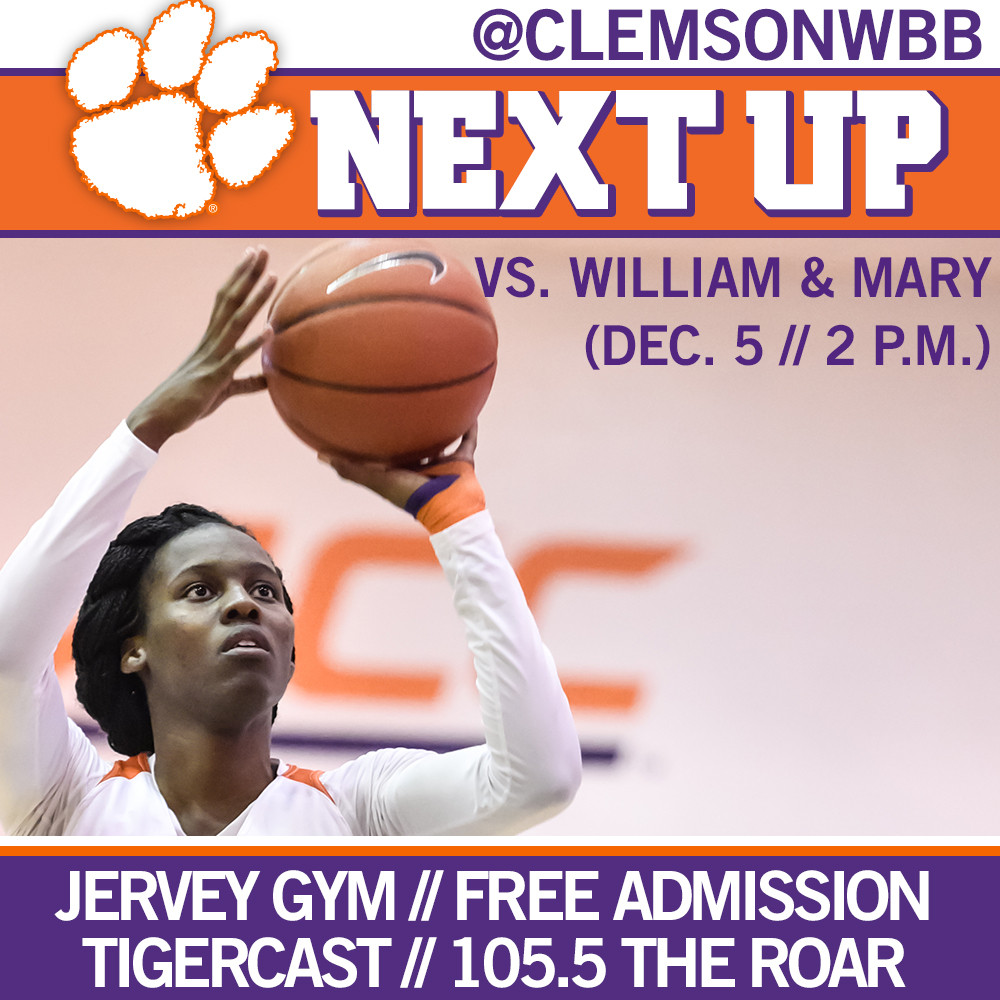 Clemson to Take on William & Mary on Saturday