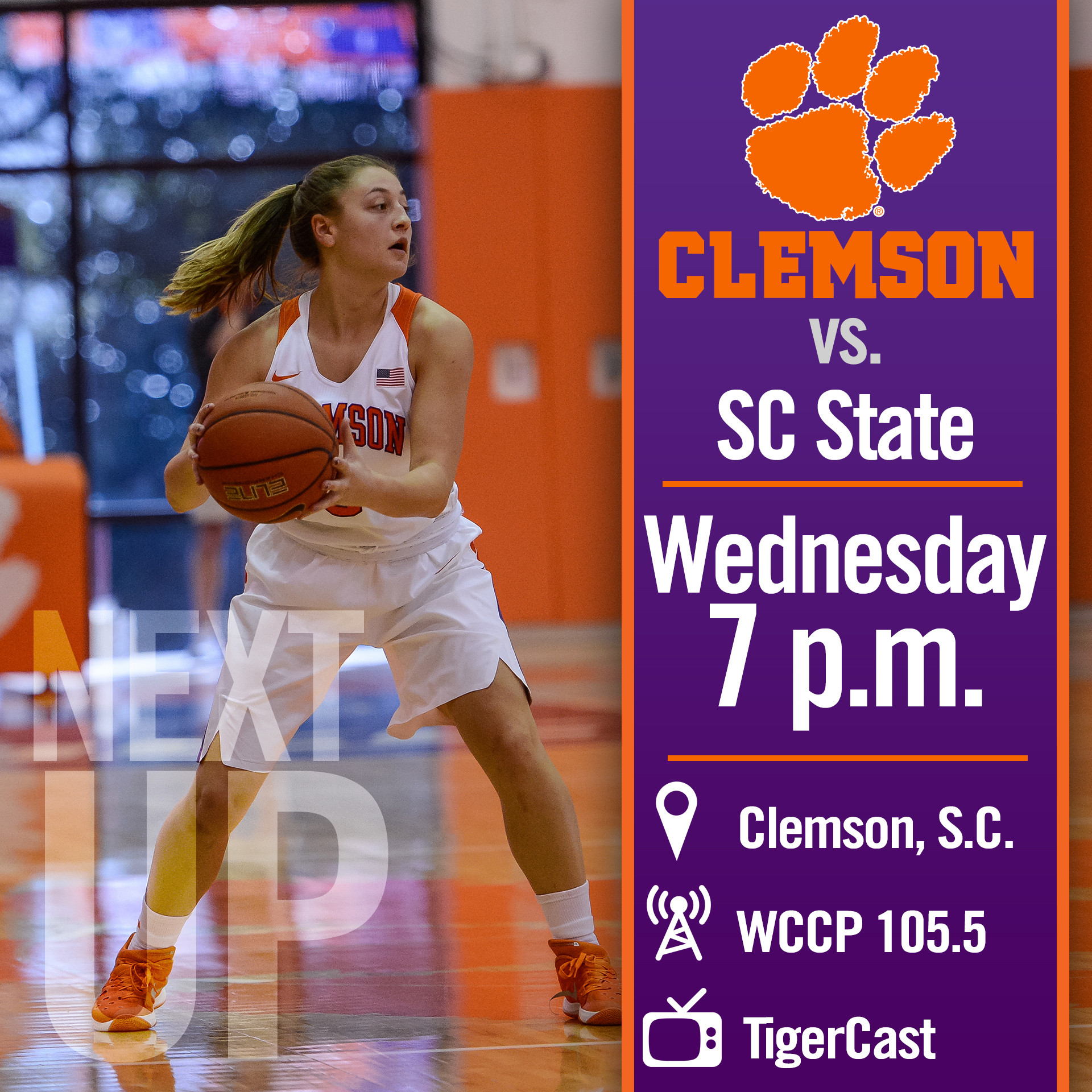 Tigers Return Home to Face SC State