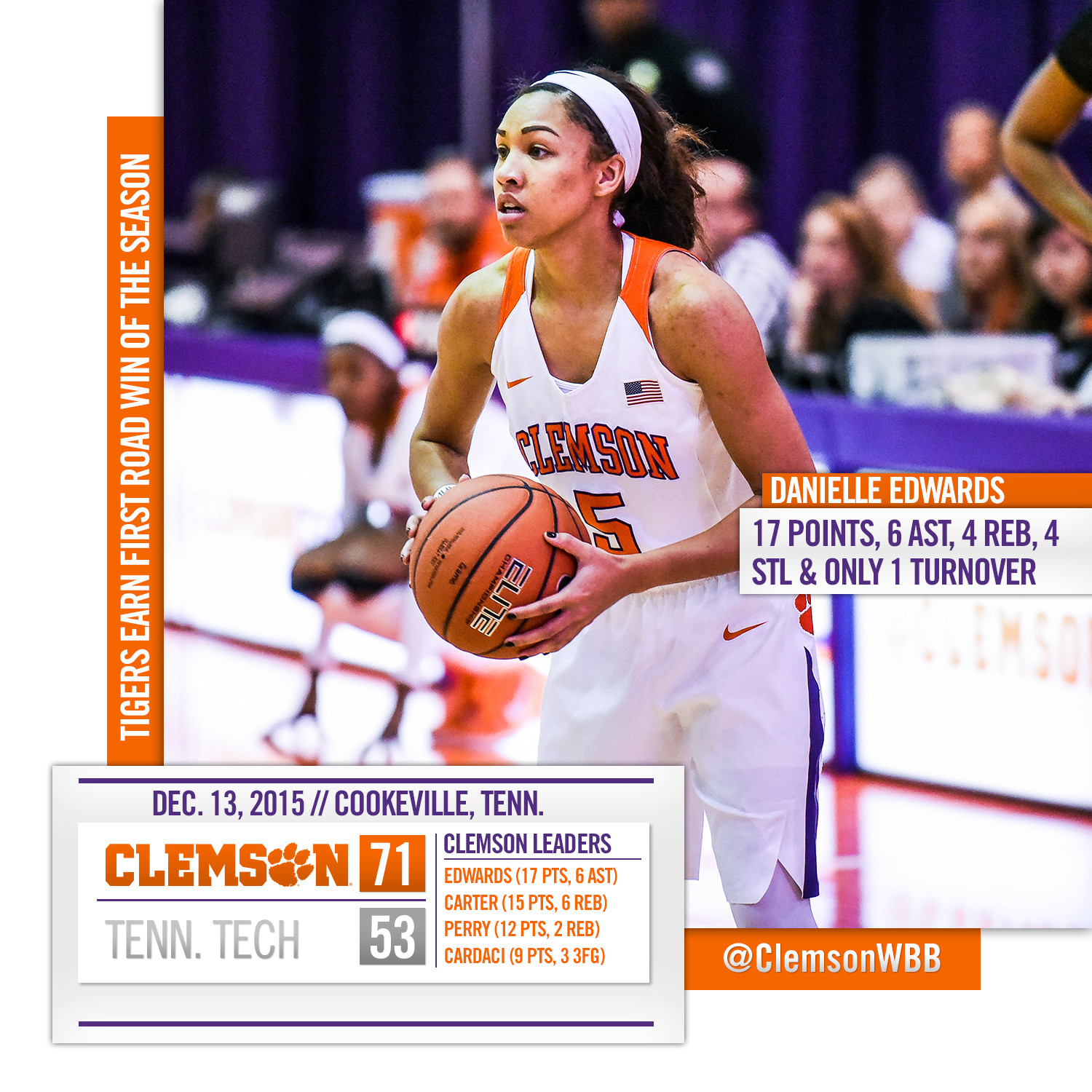 Lady Tigers Run Away From Tennessee Tech