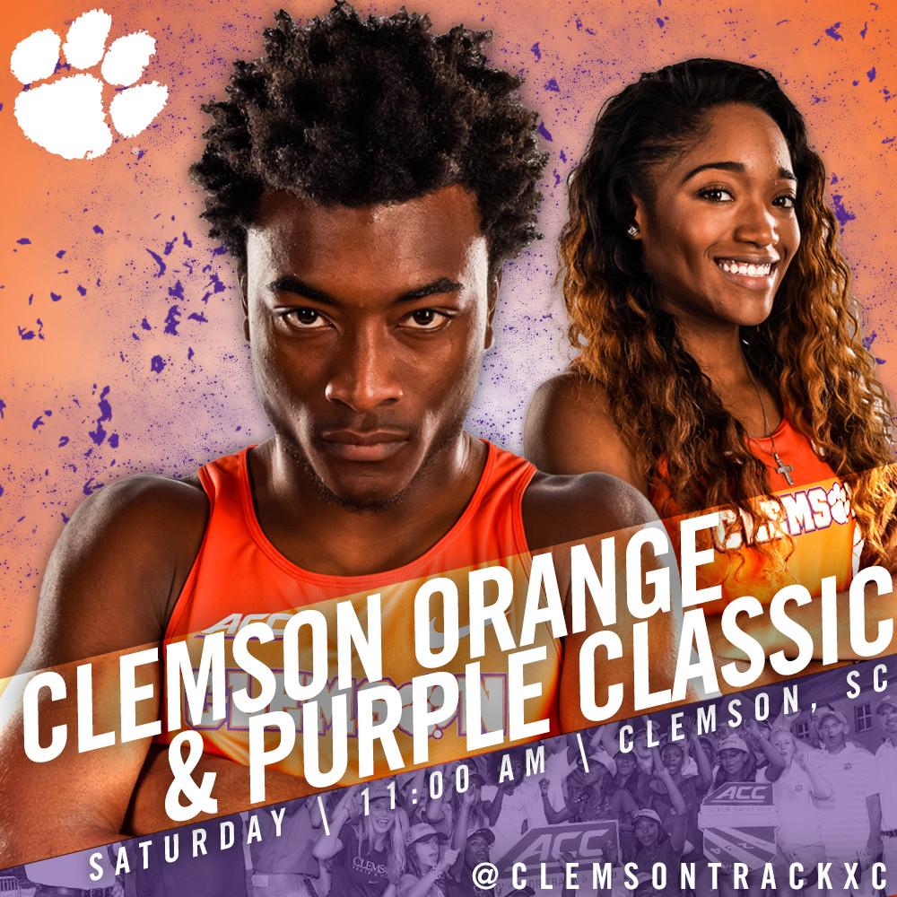 Track & Field Kicks Off 2016 With Orange & Purple Classic