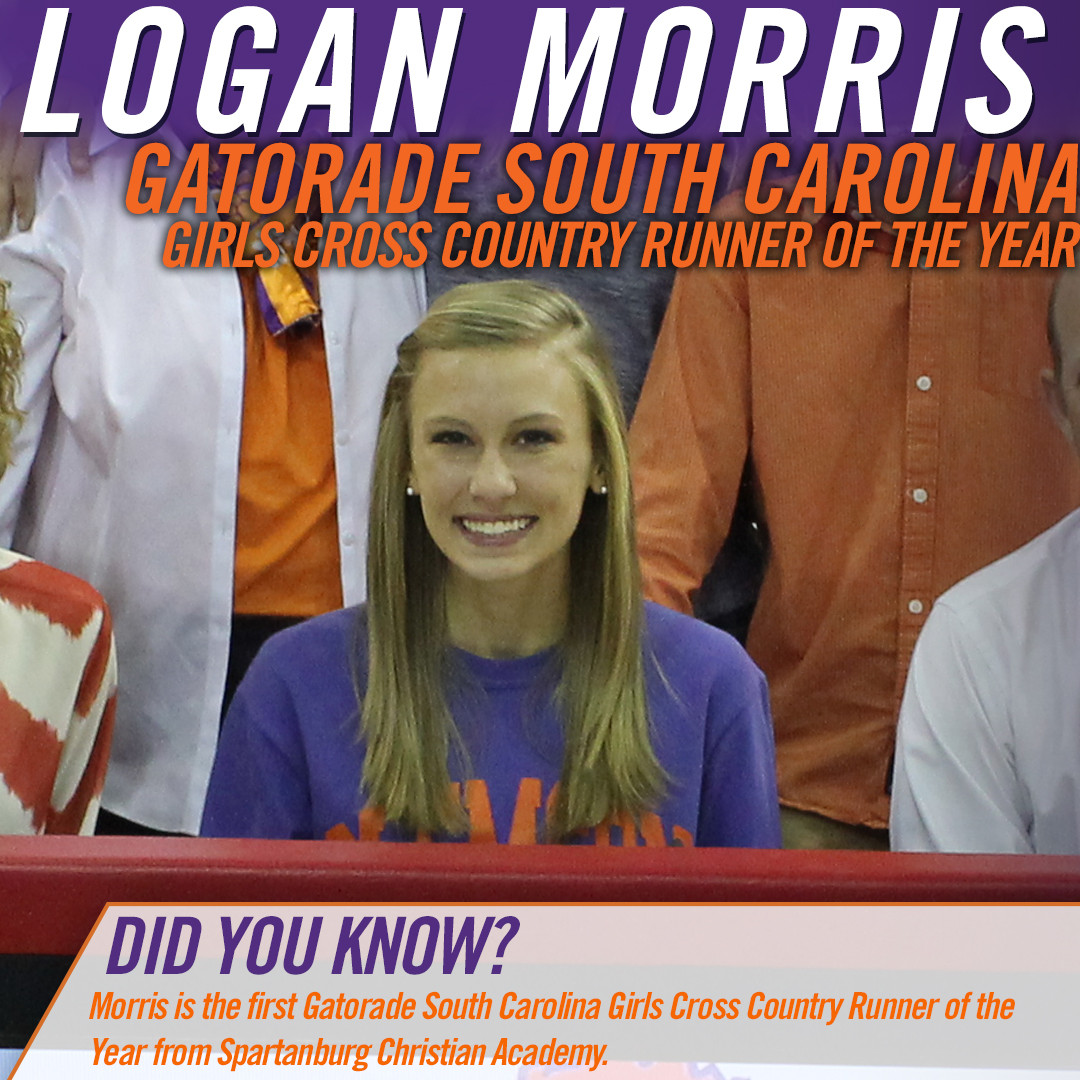 Logan Morris Named Gatorade South Carolina Girls Cross Country Runner Of The Year