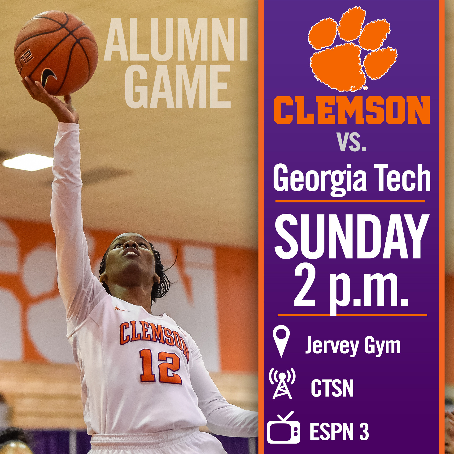 Tigers, Yellow Jackets Tangle Sunday