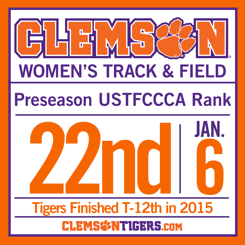 Tiger Women No. 22 in Preseason Indoor Rankings