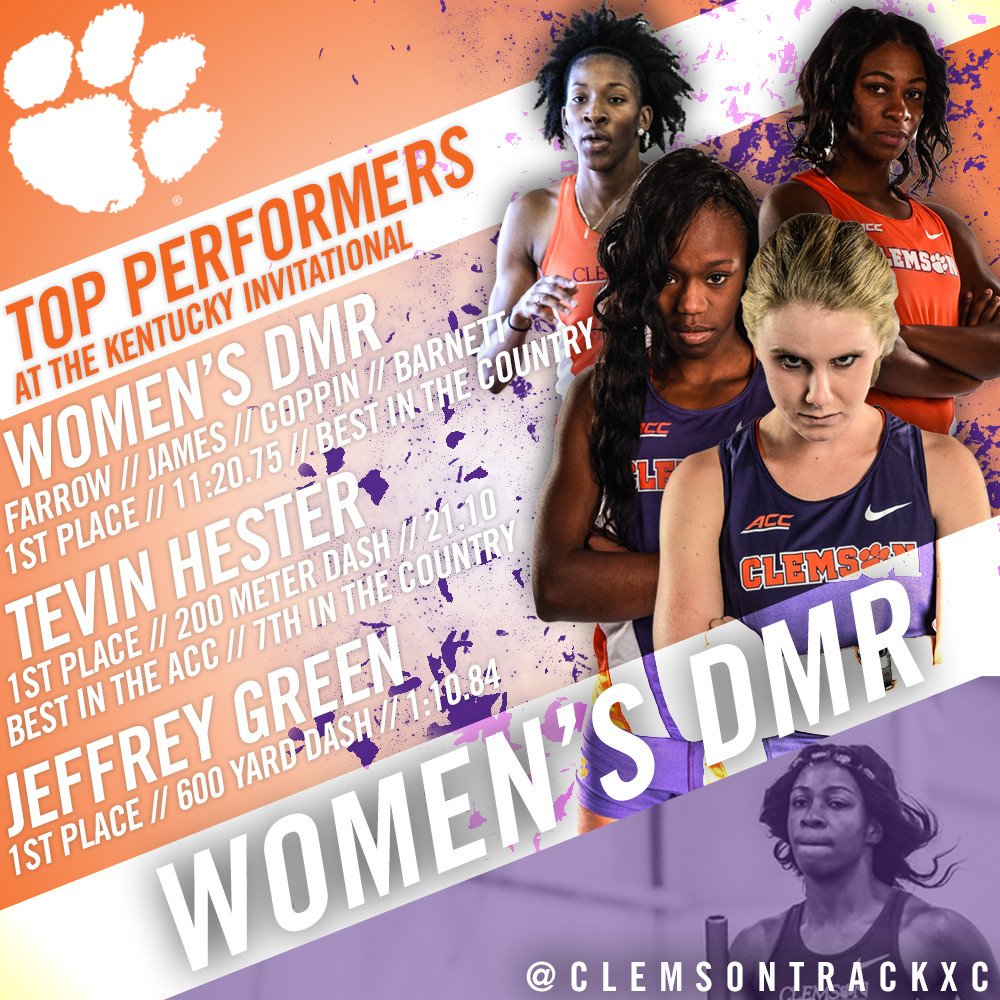 Hester And Women?s DMR Highlight Day One In Kentucky