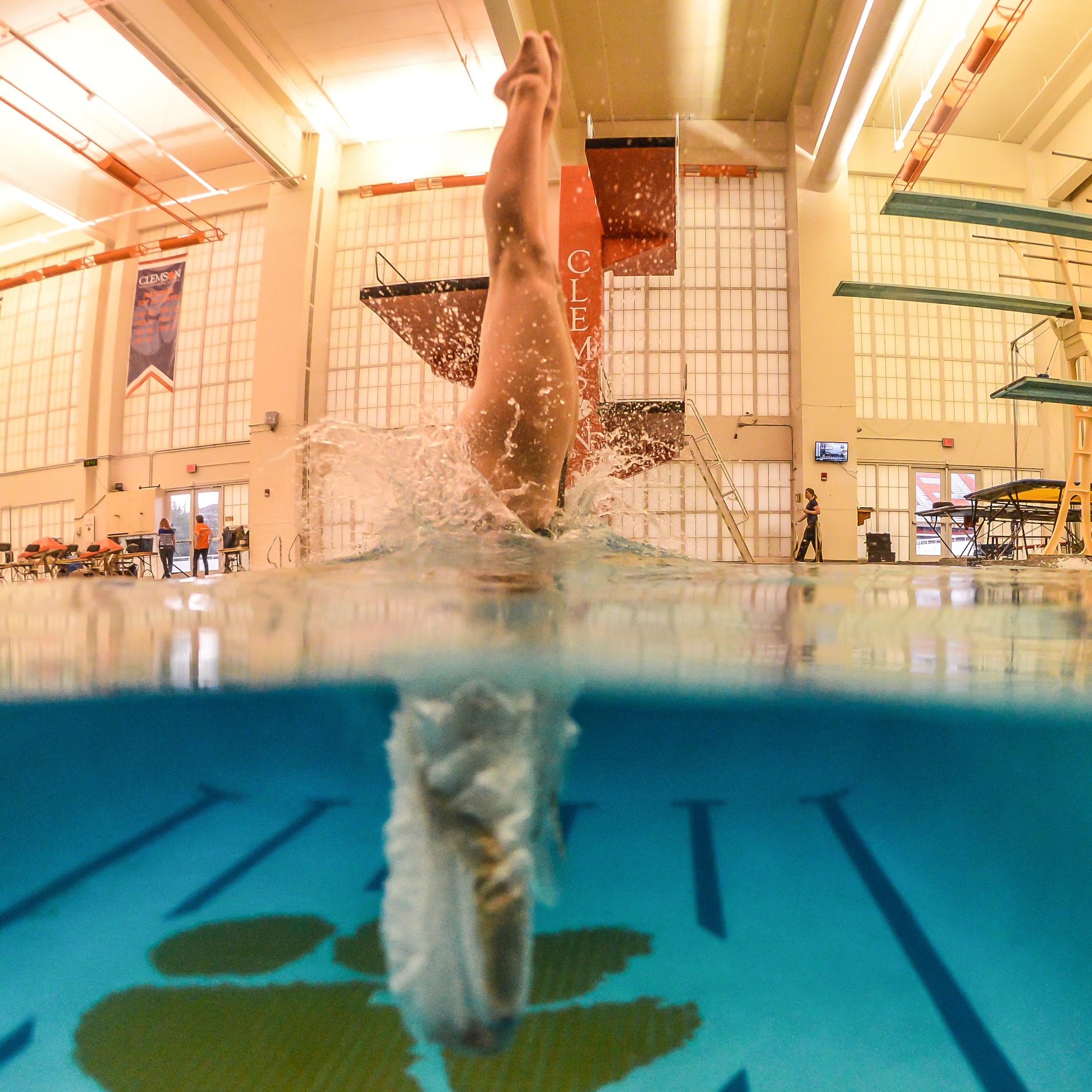 Clemson Diving Named CSCAA Scholar All-America Team