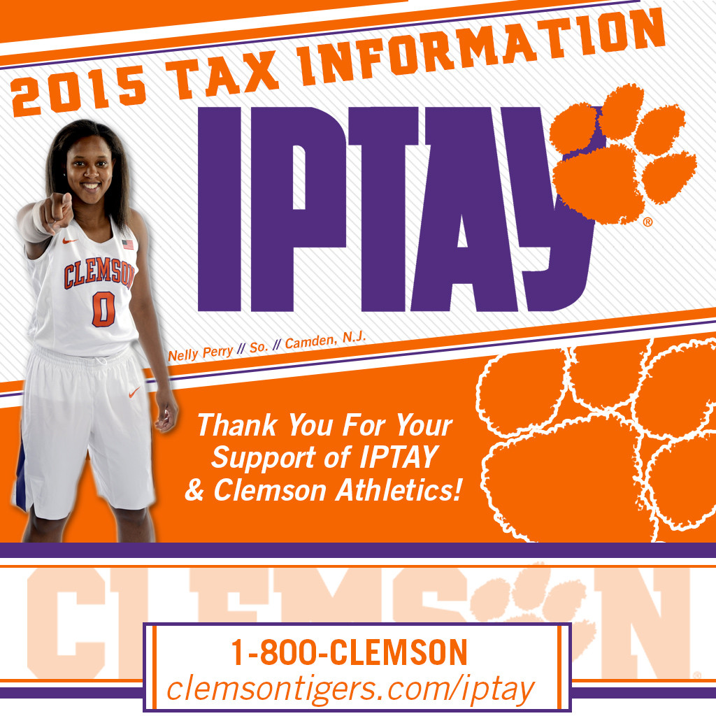 Update: 2015 IPTAY Tax Letter