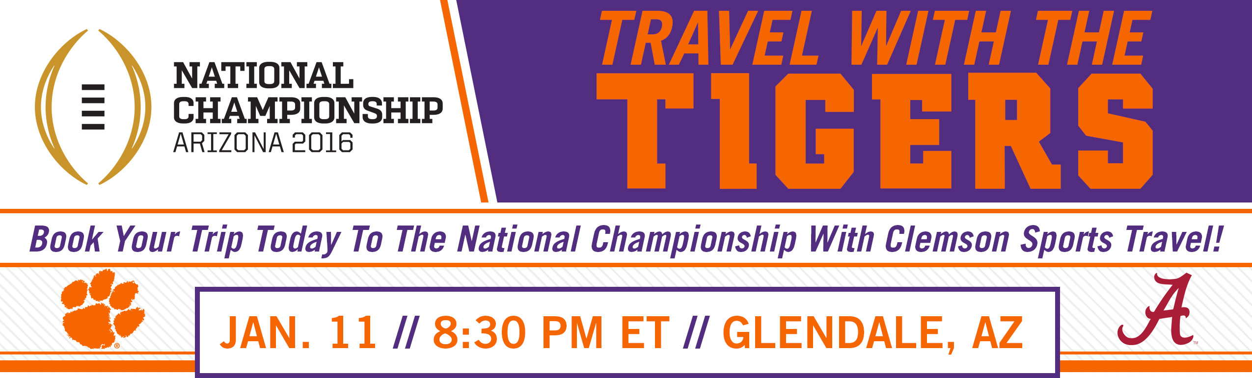 Limited Tickets Remain For Clemson Sports Travel's Tiger Tailgate