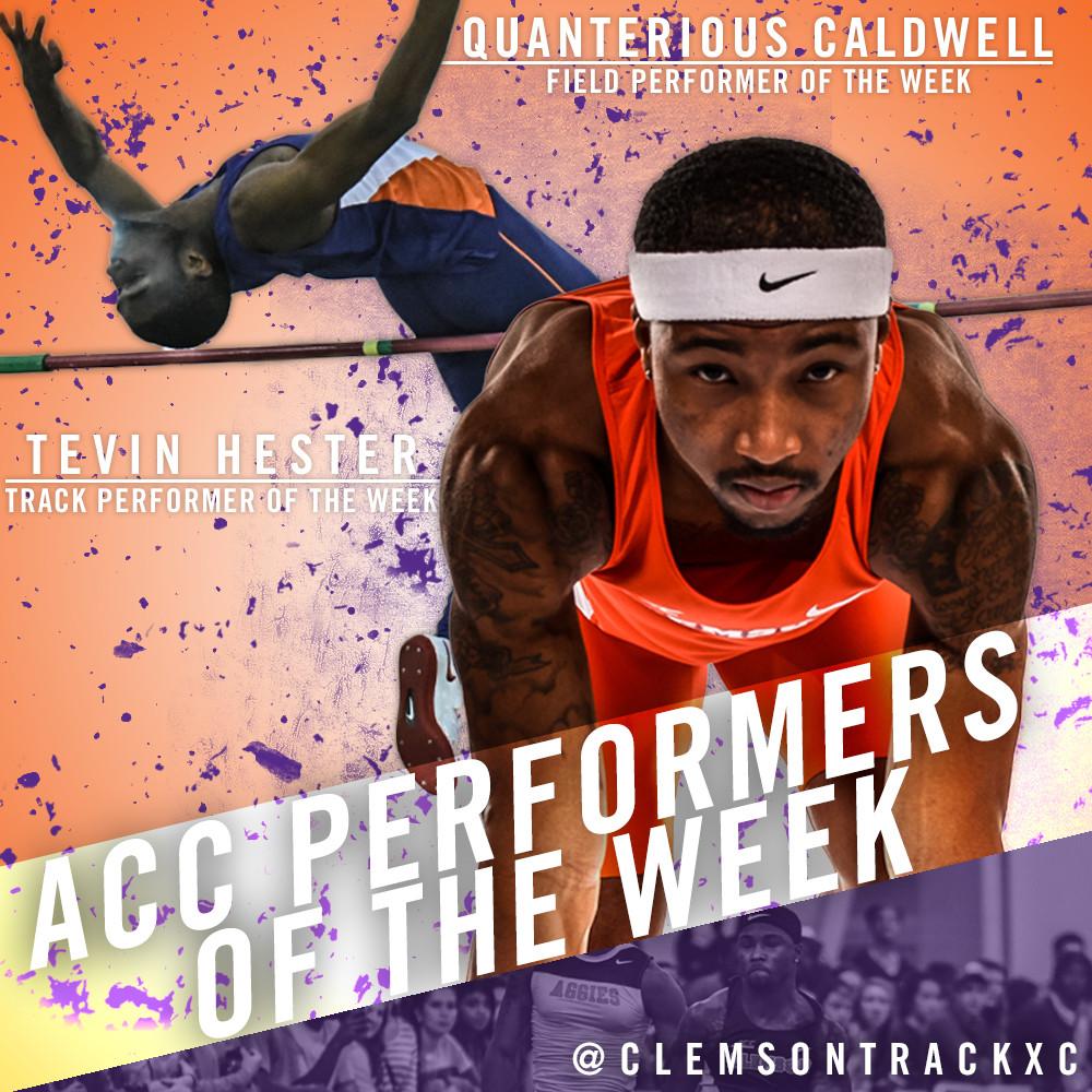 Men?s Track Sweeps ACC Honors