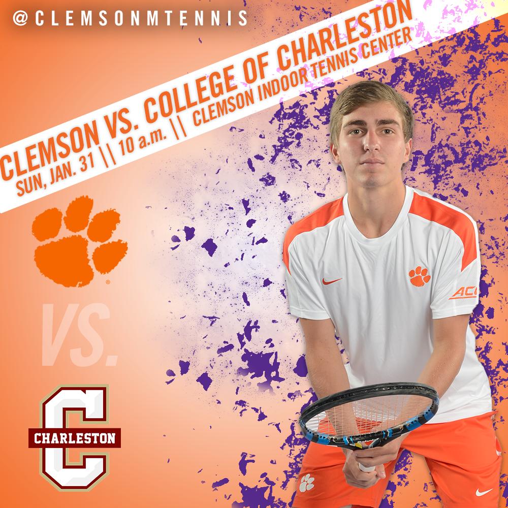 Clemson Hosts College of Charleston in Home Opener Sunday