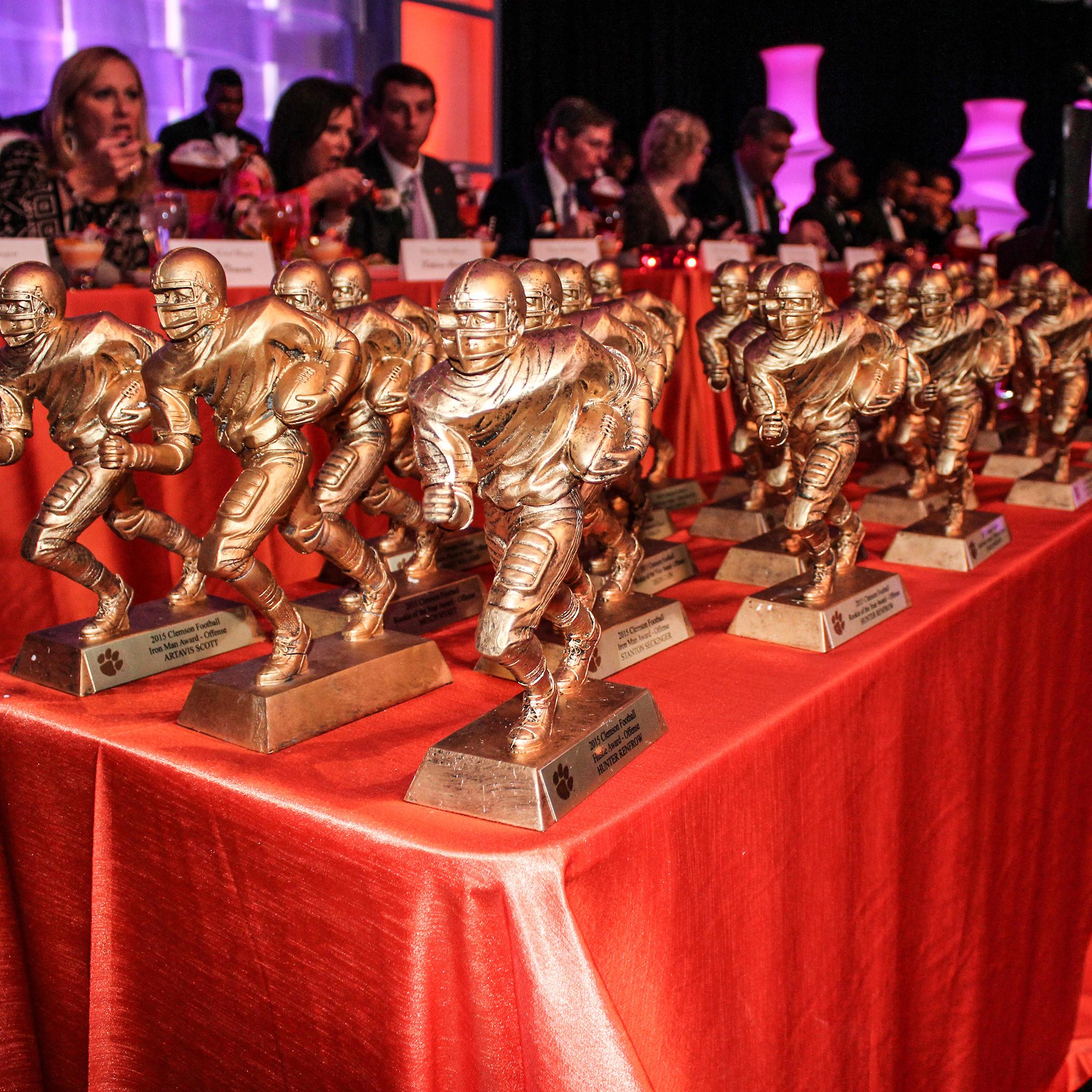 Clemson Holds Awards Banquet