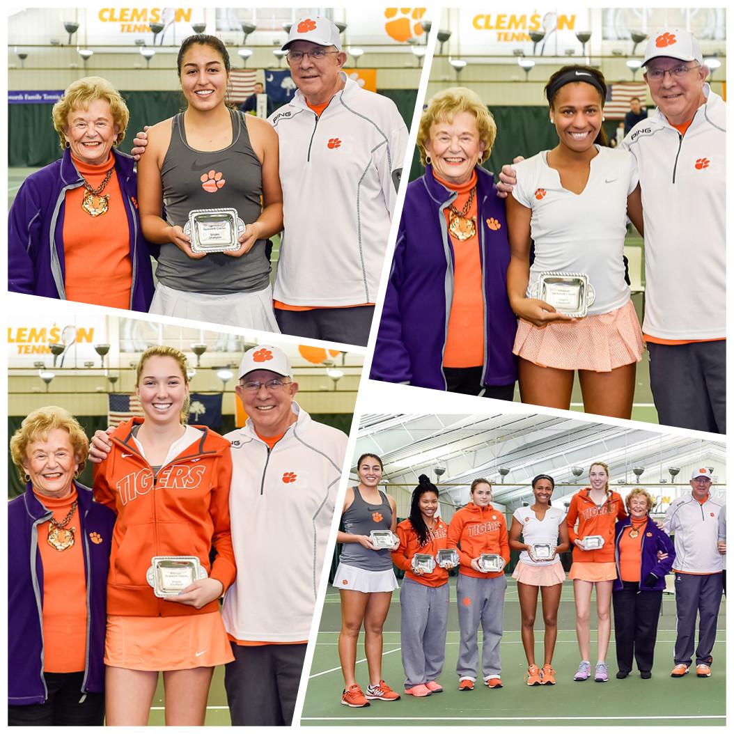 Three Freshmen Win Singles Titles at Duckworth Winter Classic