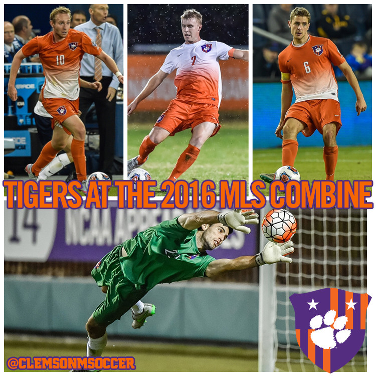 Four Tigers Attend MLS Combine this Week