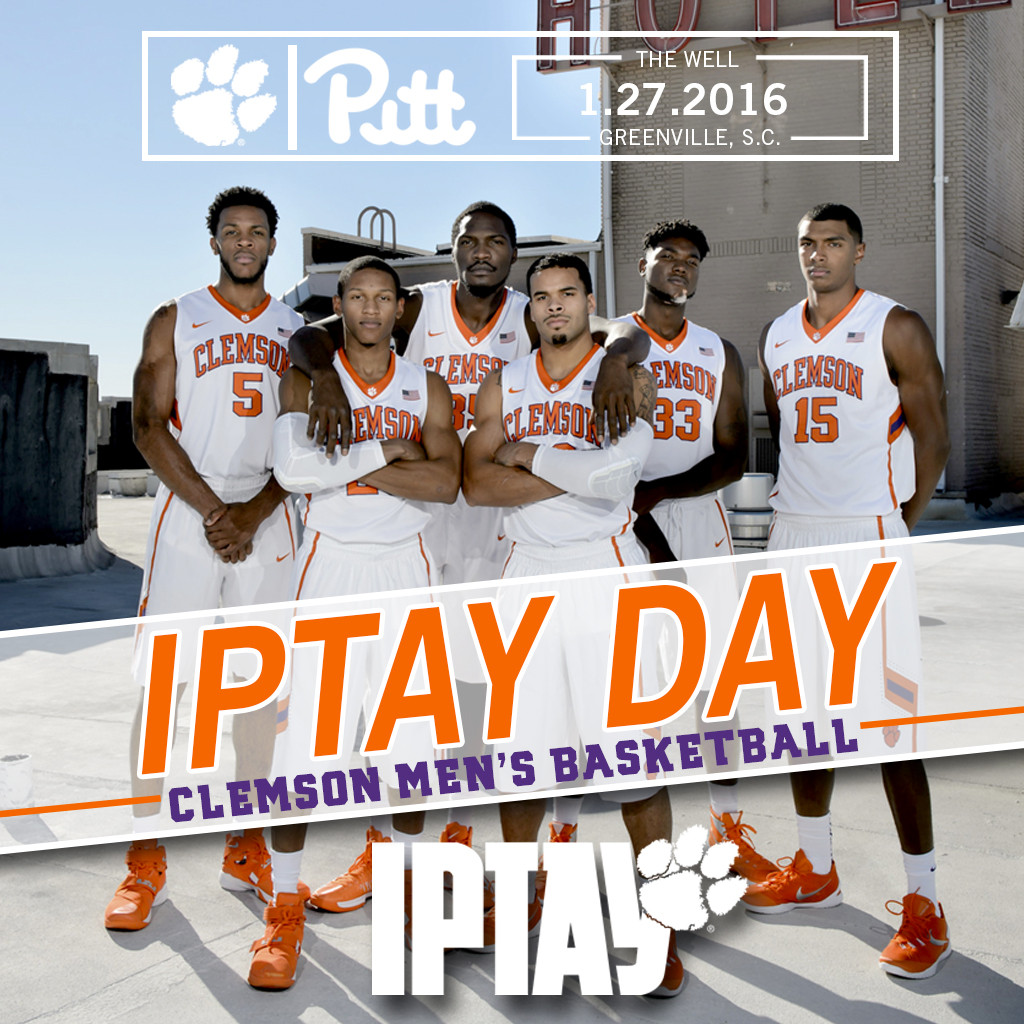 1.27.16 Tabbed As IPTAY Day At The Well!
