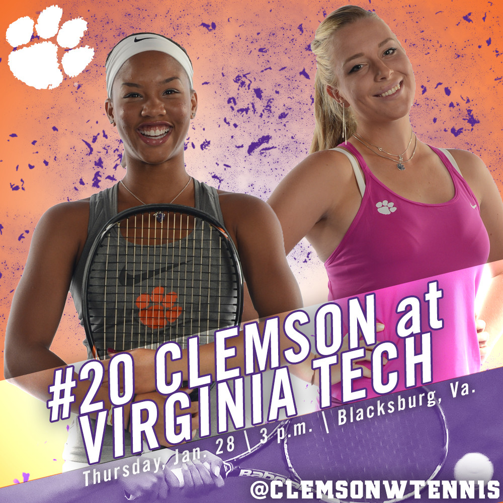 Tigers Travel to Blacksburg for First ACC Contest of 2016