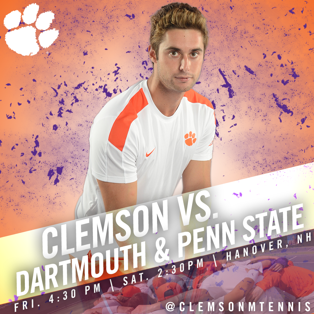 Clemson Faces Dartmouth & Penn State This Weekend in New Hampshire
