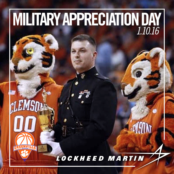 Military Appreciation Day Sunday