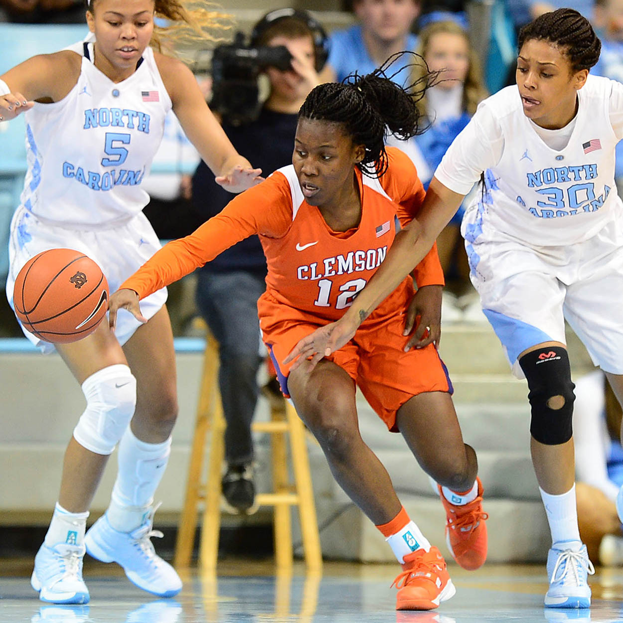 Tigers Fall to North Carolina On the Road in ACC Opener