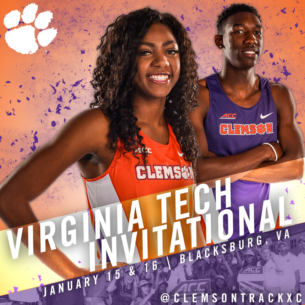 Clemson Track & Field Set For First Road Test