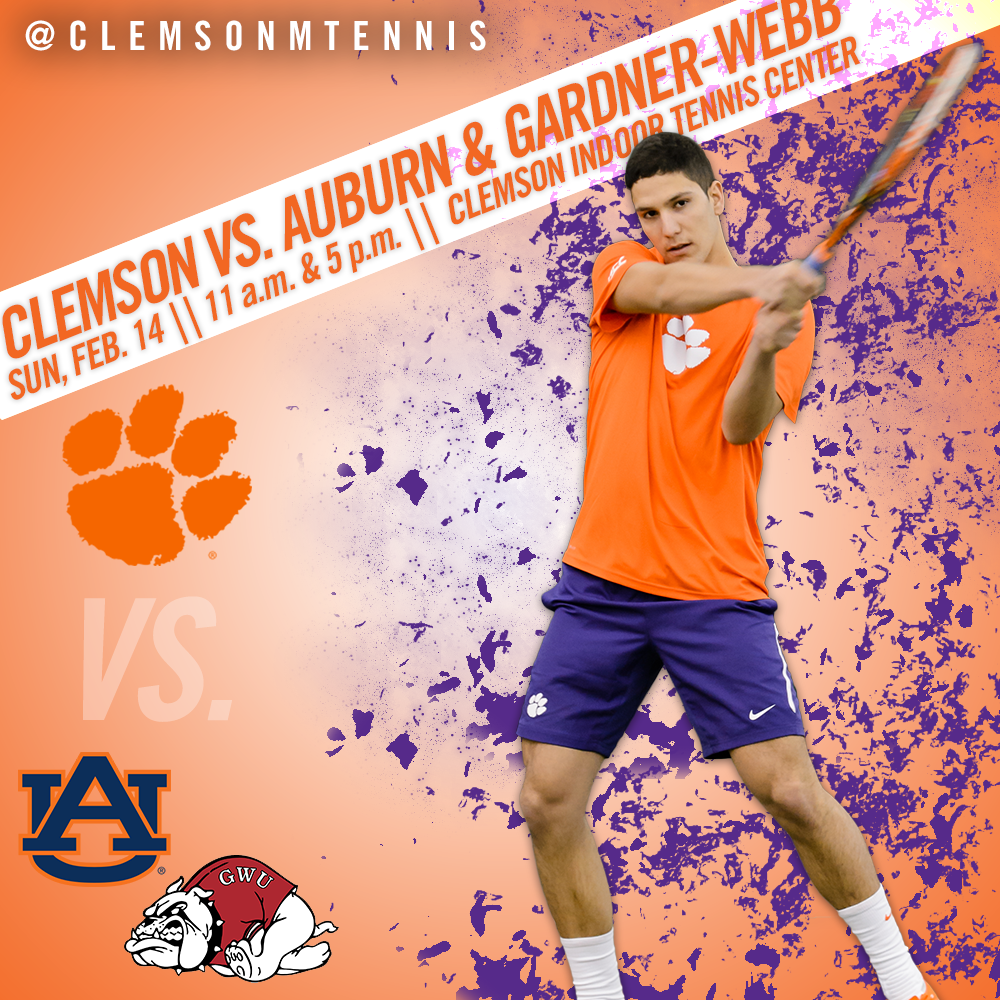 Clemson Hosts Auburn and Gardner-Webb Sunday