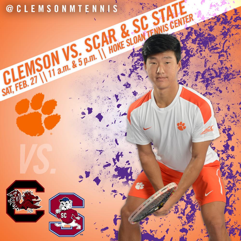 Clemson Hosts No. 61 South Carolina, South Carolina State Saturday