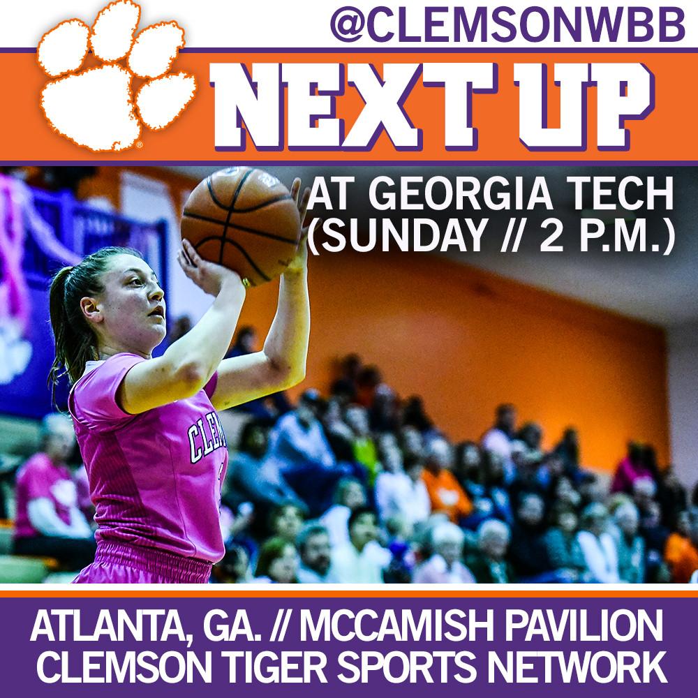 Lady Tigers Take on Georgia Tech