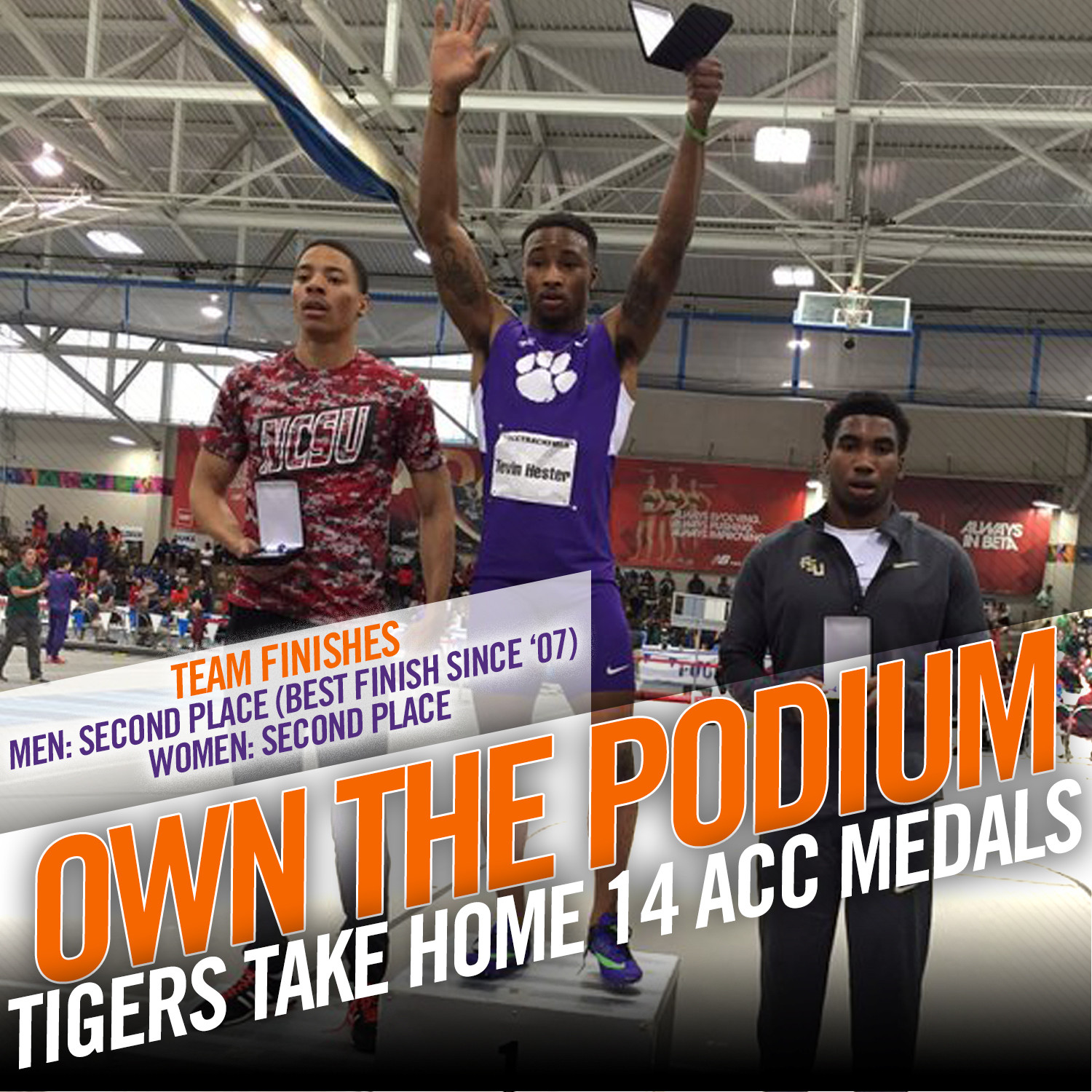 Five Gold Medals Highlight ACC Finale