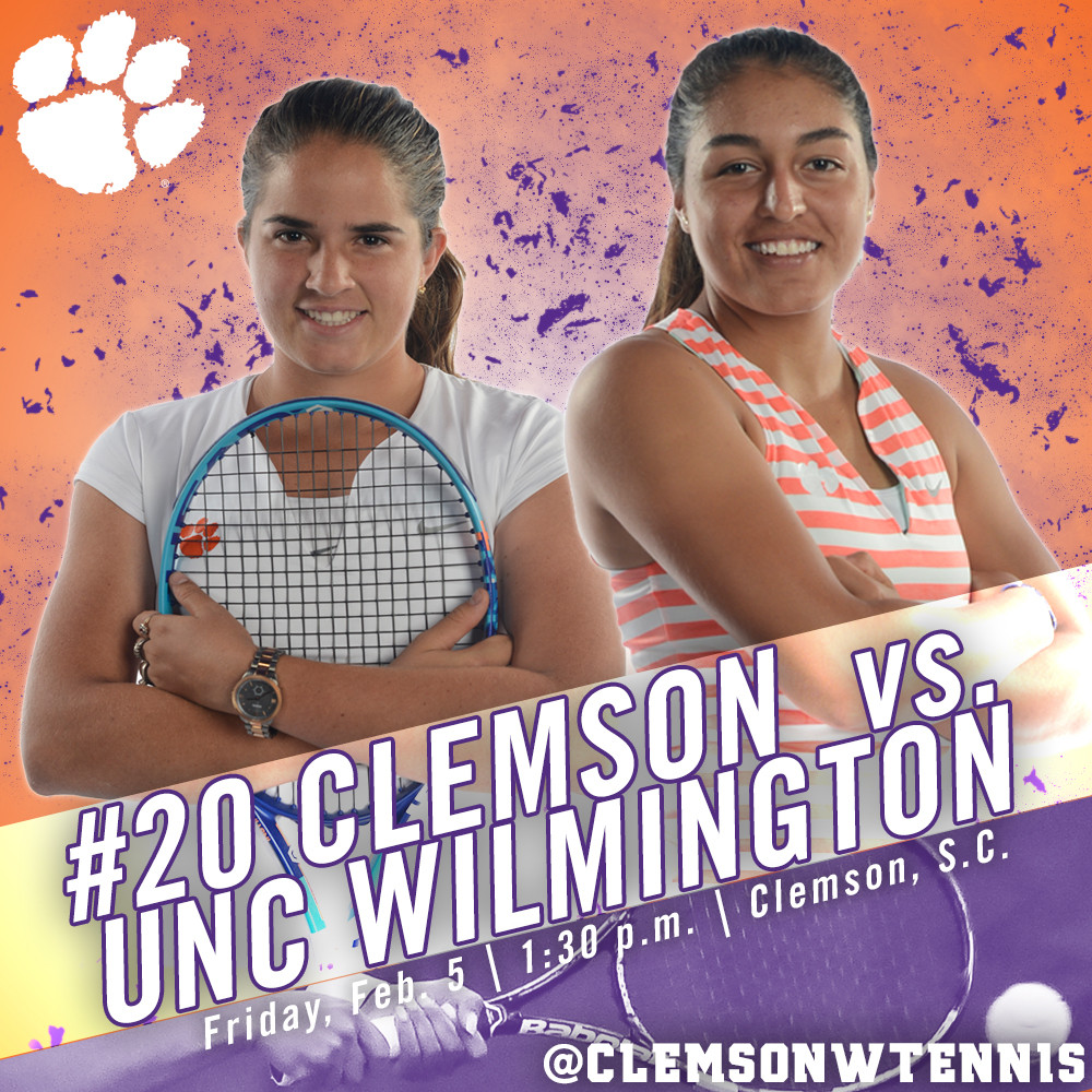 No. 20 Tigers Host UNC Wilmington Friday in First Home Match