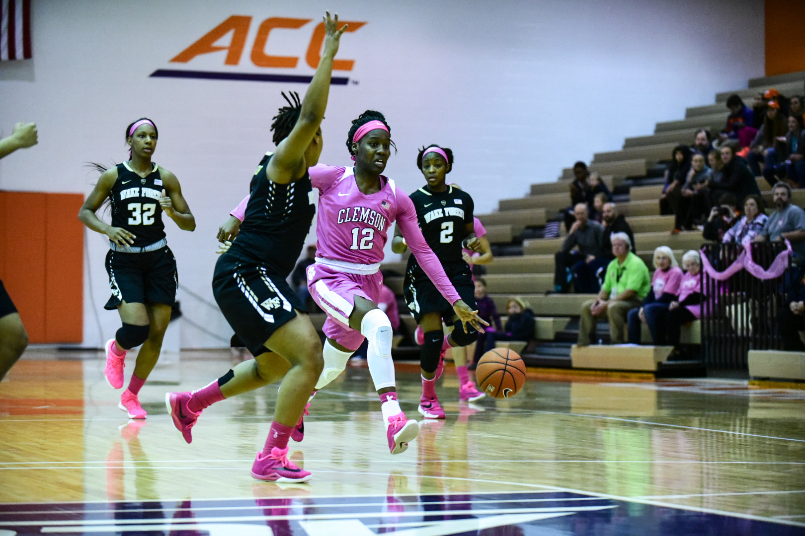 Tigers Drop Close Contest to Wake Forest