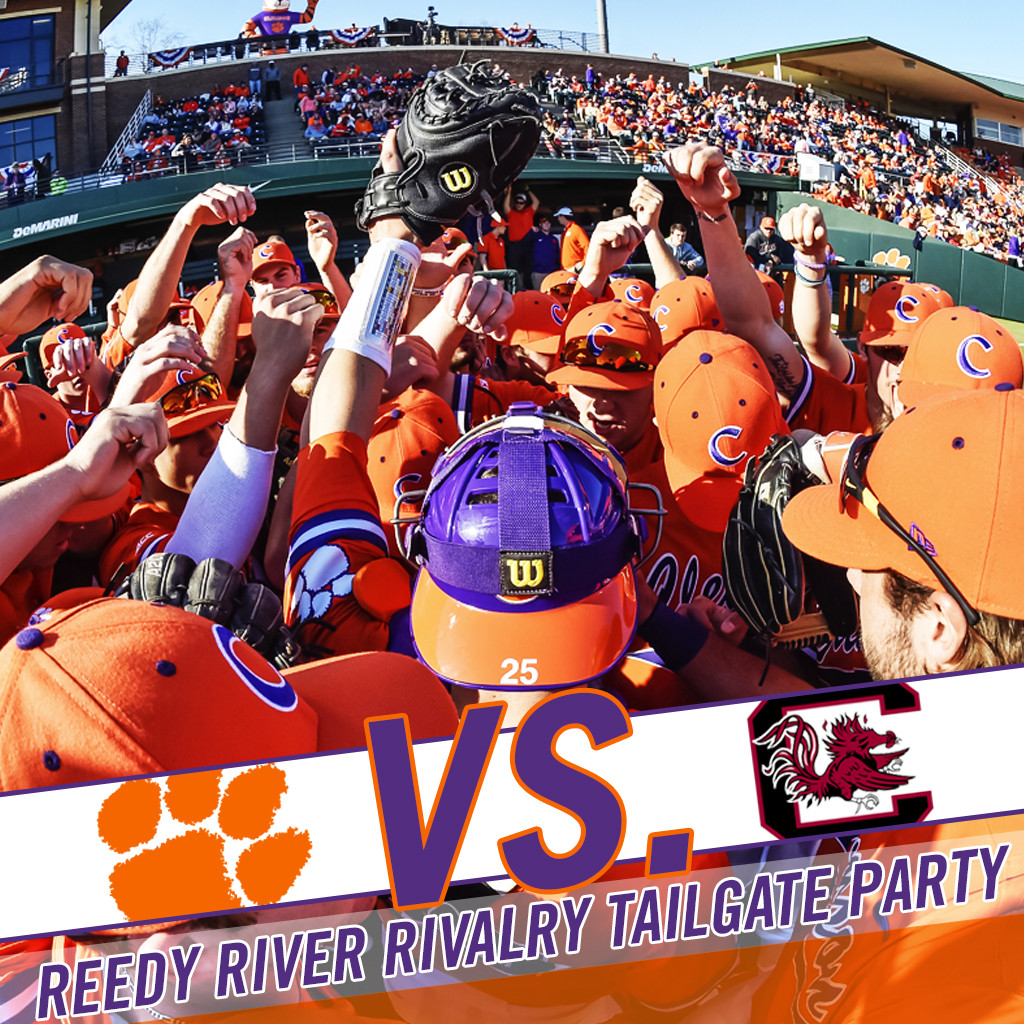 Join Us This Weekend In Greenville At The Reedy River Rivalry Tailgate Party