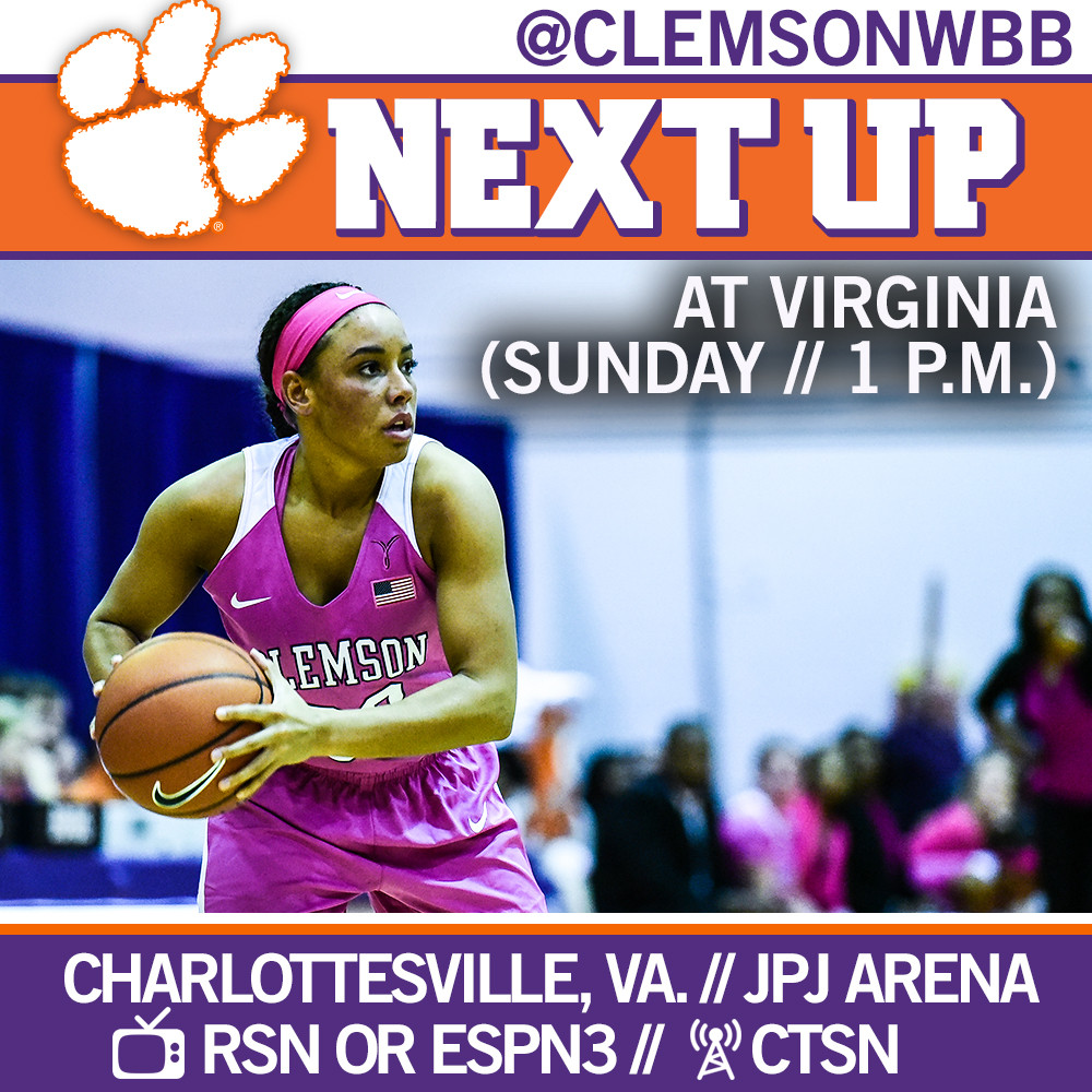 Lady Tigers Face Virginia on the Road