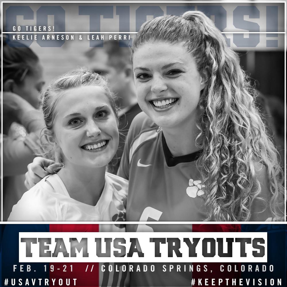 Arneson, Perri Head To Team USA Tryouts