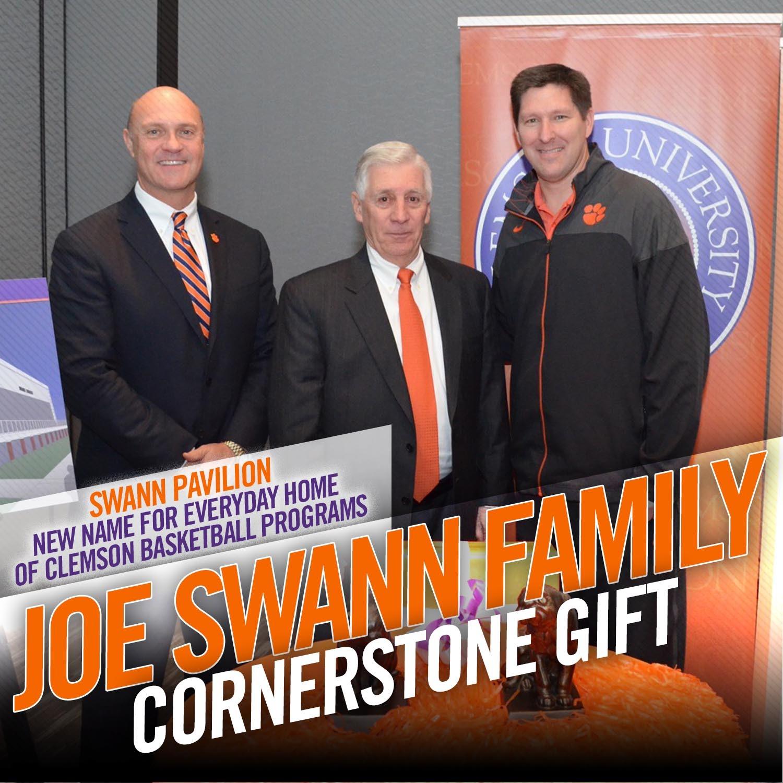 Swann Pledges $3.3M For Athletics Facilities