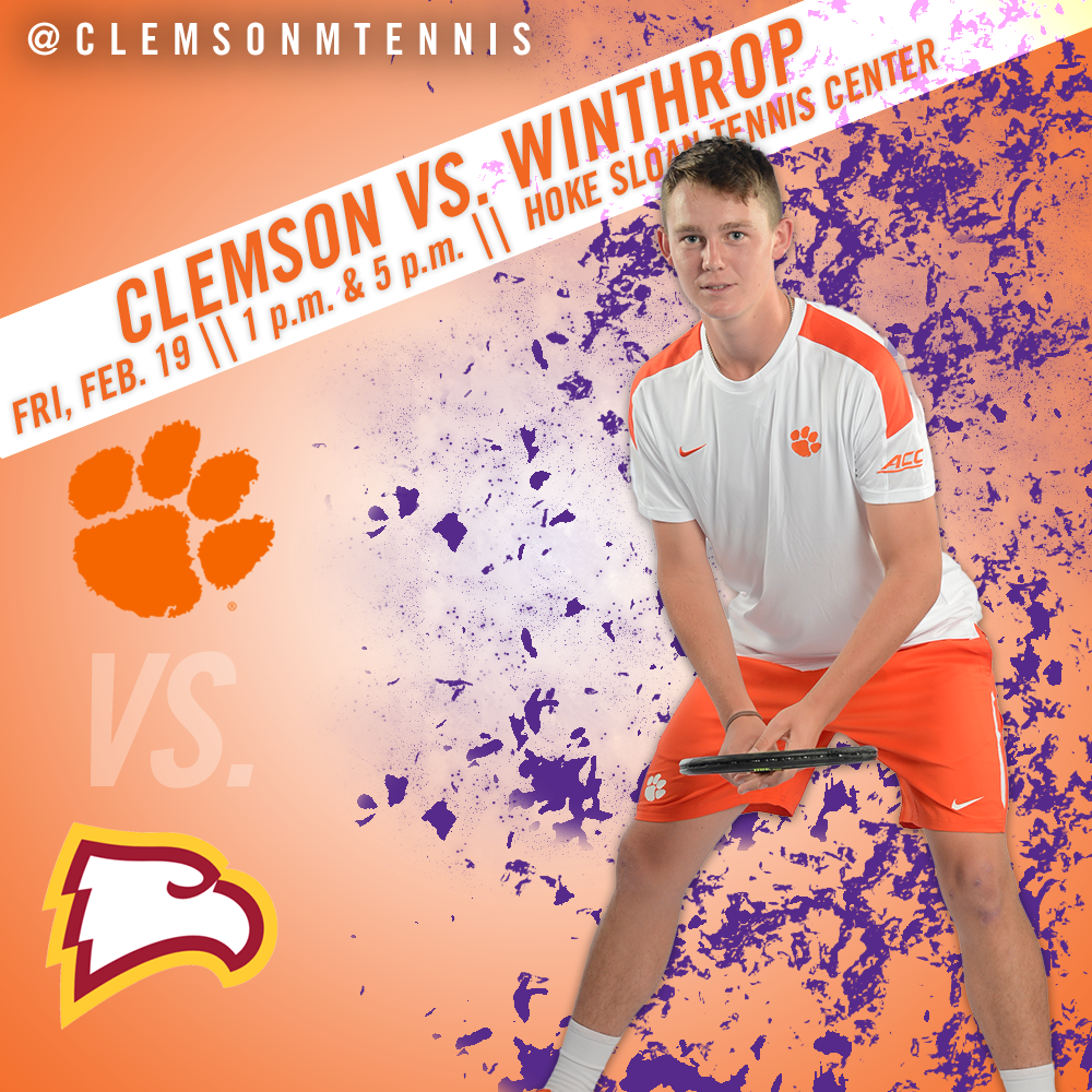 Clemson Hosts Winthrop in Doubleheader Friday