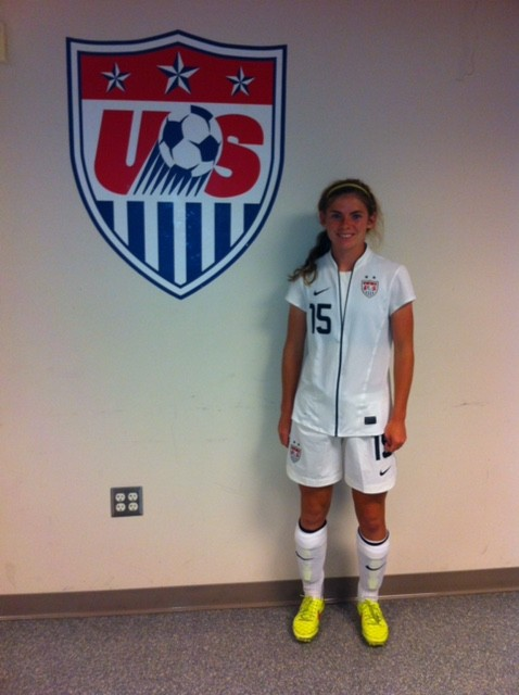 Mackin Attends 7th USWNT Event