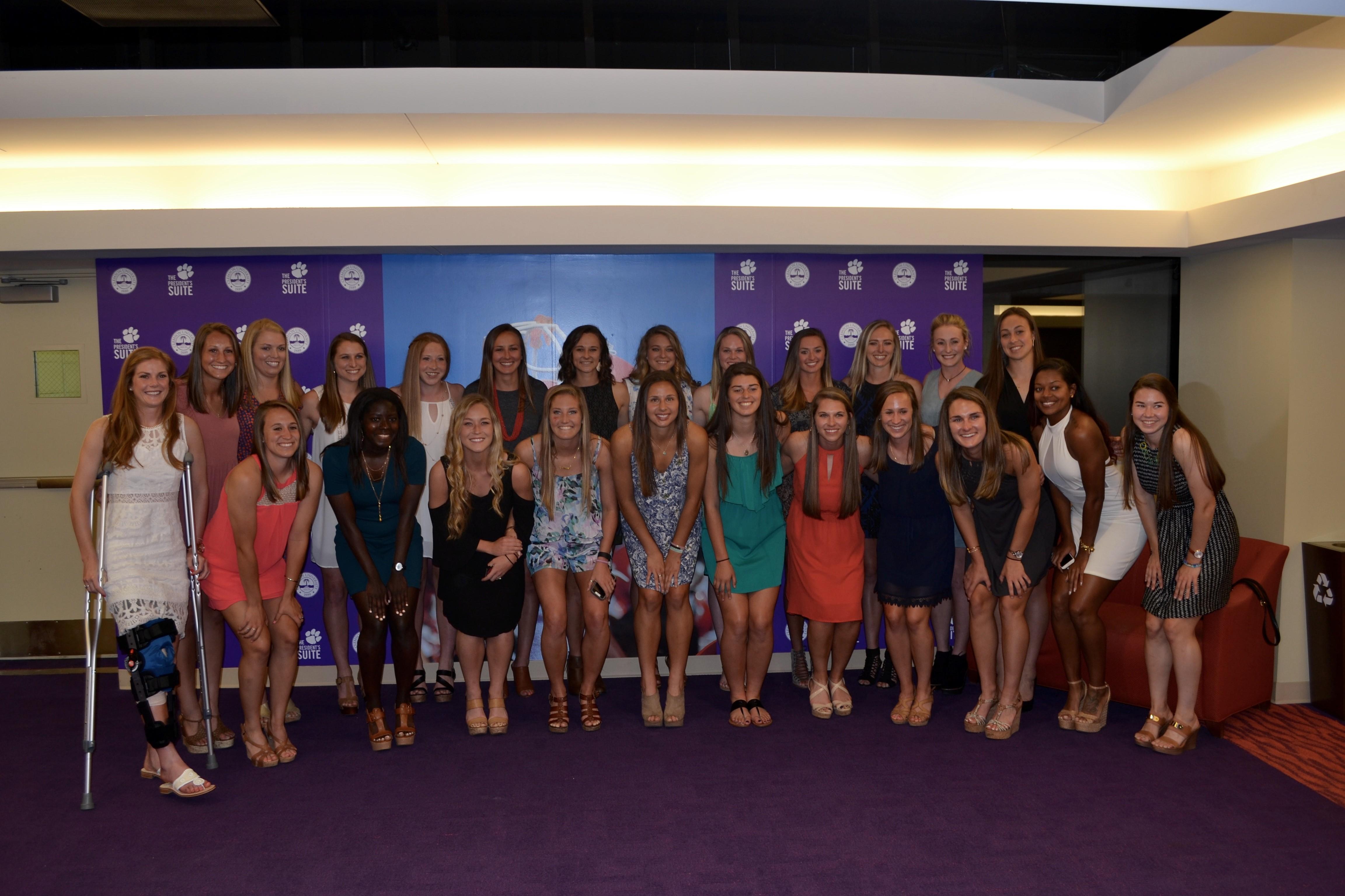 Clemson Women?s Soccer Program Celebrates Successful Season