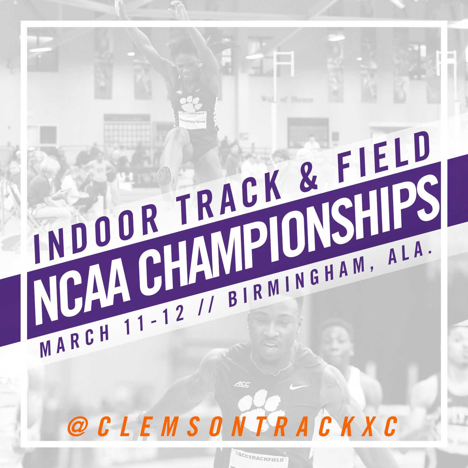 Track Prepares For The Nation's Biggest Stage